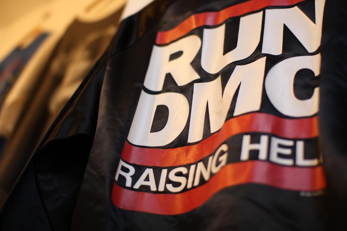 ヴィンテージ RUN DMC ジャケット