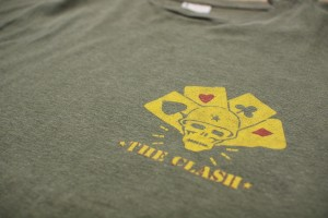 "80's ""THE CLASH"" コンバットロックTシャツ"