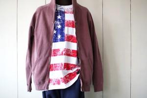 星条旗プリントTシャツ
