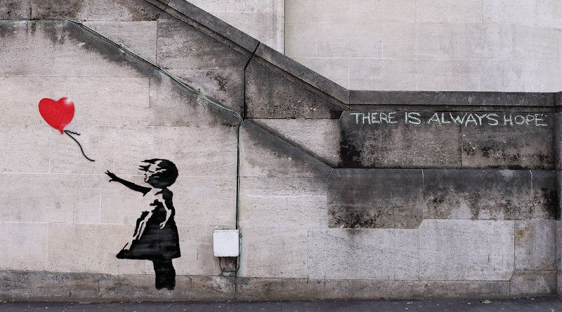 Banksy_THERE IS ALWAYS HOPE